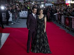 Colin Farrell (L) and Rachel Weisz (R) attend the premiere of their film 'The Lobster' during the BFI London Film Festival in London on October 13, 2015.  Justin Tallis, AFP/Getty Images
