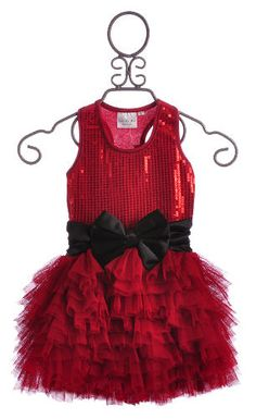 Ooh La La Wow Girls Valentines Dress Red $109.00