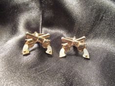 Swank Six Shooter Cuff Links with Mother of Pearl Handles by DresdenCreations, $40.00