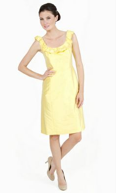 LulaKate : Margaret could do top of stripes dress in this yellow (in any bodice type) Or non-stripes type dresses $188 - $298 (depending on fabric types)
