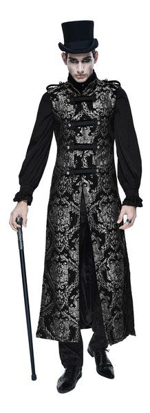 Looking for Steampunk Gothic Mens Long Waistcoat Jackets Winter Sleeveless Fashion Vest Coat ? Check out our picks for the Steampunk Gothic Mens Long Waistcoat Jackets Winter Sleeveless Fashion Vest Coat from the popular stores - all in one. Kimono Fashion, Fashion Vest, Fashion Outfits, Fashion Clothes, Men's Coats And Jackets, Winter Jackets, Sleeveless Trench Coat, Bohemian Blouses, Winter Outfits Men