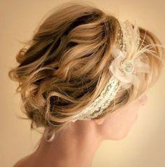 Bridal Hairstyles – Short hair