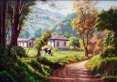 Resultado de imagem para telas pinturas casas