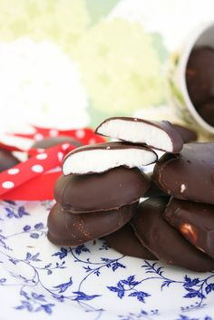 Homemade Peppermint Patties   For Printable Version, Click here!   Makes: About 30 Candies  14 ounces Sweetened Condensed Milk  6 ½ cups Confectioners Sugar  1 tablespoon Peppermint Extract  3 cups Dark Chocolate, Chopped  2 tablespoons Shortening