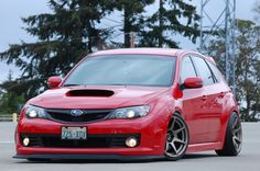 i don't like red, but i like this sti