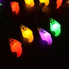 Easter Solar LED Light String Waterproof Fairy Rope Outdoor Decoration 1-6PCS