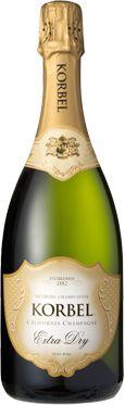 Korbel Champagne Extra Dry (750 ML)