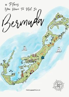 Bermuda is a gorgeous island to explore and a totally idyllic place to chill out, relax and explore on a trip. That being said, the island also has a fair - 11 Best Things To Do In Bermuda - Travel, Travel Advice - Bermuda, Caribbean - Travel, Food and Home Inspiration Blog with door-to-door Travel Planner! - Travel Advice, Travel Inspiration, Home Inspiration, Food Inspiration, Recipes, Photography Bermuda Vacations, Bermuda Travel, Bermuda Beaches, Tropical Vacations, Cheap Places To Travel, Wanderlust, Angeles, Travel Advice, Travel Tips