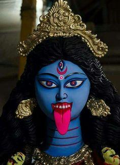 Jay Maa Kali, Kali Mata, Indian Goddess, Kali Goddess, Maa Image Hd, Maa Kali Photo, Maa Kali Images, Durga Kali, Mata Rani