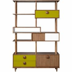 Orla Kiely Wall Unit -- in my mind where I'm rich I would buy myself this.