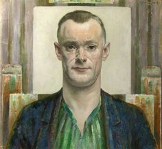 Self Portrait by Orlando Greenwood Collection: Towneley Hall Art Gallery & Museum