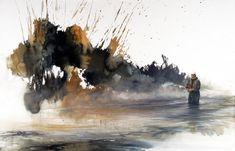 Morten E. Solberg - Watercolor