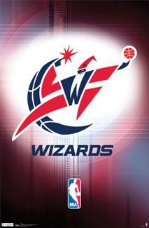 Washington Wizards Official NBA Team Logo Poster - Costacos Sports bringing home gold next year Wizards Basketball, Basketball Posters, Basketball Leagues, Basketball Pictures, Basketball Teams, Sports Wall, Sports Logo, Wizards Logo, National Basketball League