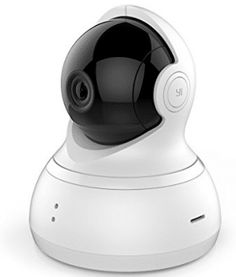 YI Dome Camera Pan/Tilt/Zoom Wi-Fi IP Indoor Home Security Surveillance System HD Night Vision, Motion Tracker, Auto-Cruise, Remote Pet Monitor with iOS, Android App - Cloud Service Available * Check out this great product. (This is an affiliate link) Best Security Cameras, Home Security Tips, Wireless Security Cameras, Wireless Home Security Systems, Security Surveillance, Security Alarm, Surveillance System, Safety And Security, Wireless Camera
