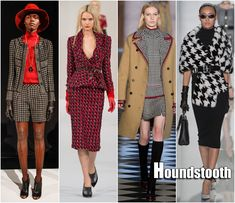 Fall 2013 Color Trends | New York Fashion Week Fall 2013 Trends Houndstooth Trend Trina Turk ...