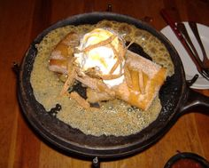 Applebee's Apple Chimi Cheesecake - I remember when Applebee's used to have this as a dessert and I loved it! Was so disappointed when they took it off the menu. But now I found the recipe for it and I'm happy again! Yum!! :)