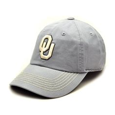 newest collection 4a7c3 bcc00 NCAA Oklahoma Sooners Men s Neutral Zone Adjustable Cap (Grey, One Size) by  Top