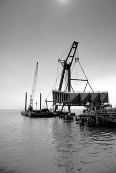 Southend Pier cultural centre by White Arkitekter & Sprunt. Civil Engineering Projects, Details Magazine, Down The River, River Thames, Tonne, Cultural Center, Centre, Waves, Construction