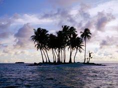 Free Wallpapers: Truk Micronesia at Sundown | Nature