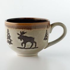 Moose mug! I love that the moose is getting a little more popular!