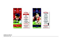 Promo Rack cards for Greenwich Village Country Club.