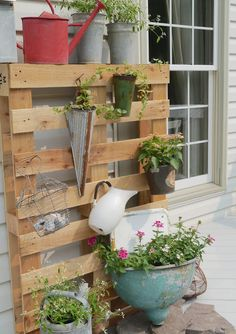 Chateau Chic: Vertical Garden on the Deck