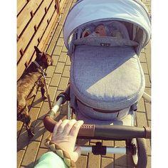Thanks @raini1991 #abcdesign #abcdesign_styleserie #styleseries #thinkbaby #style #melange_fabrics #stroller #pushchair #pram #kinderwagen #littleone #baby #outandabout #familytime #springtime #familienglück #sunnyday #instababy #dogsofinstagram
