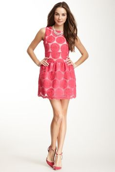 Gracia Sunflower Embroidered Dress by Non Specific on @HauteLook