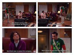 Sheldon in the beginning