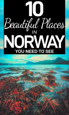 Looking for a Norway itinerary? Here are 10 beautiful places in Norway, from Bergen to fjords, and Lofoten to Flam to help you enjoy your Norway trip! #Norway #Norway2019 #Travel