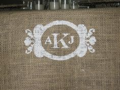 table runner :) Country Chic wedding here I come!