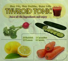 www.herbal-splash.com Thyroid Tonic Recipe #health #juice