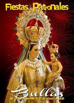 """Fiestas Patronales de Bullas """"Viva la Virgen del Rosario"""""""