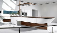 Most Desirable Luxury Kitchen With Original Design By Alno - The Home Decor Modern Kitchen Interiors, Modern Kitchen Design, Interior Design Kitchen, Interior Modern, Bar Interior, Kitchen Themes, Kitchen Decor, Alno Kitchen, Kitchen Ideas