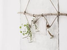 DIY / Suspension florale facile à réaliser /