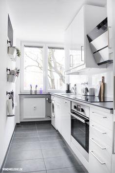 Minimalistisch: Unsere Küche im skandinavischen Stil ❤