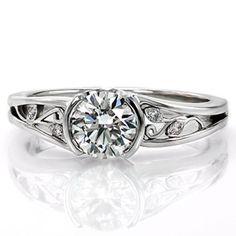 Ruth Elaine - Knox Jewelers - Minneapolis Minnesota - Filigree Engagement Rings - Motion, Desiree, Half Bezel, Filigree