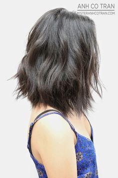 OFF WITH THE HAIR! SOFT A-LINE + UNDERCUT AT RAMIREZ|TRAN. Cut/Style: Anh Co Tran. Appointment inquiries please call Ramirez|Tran Salon in Beverly Hills: 310.724.8167
