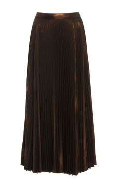 Bobby Pleated Midi Skirt by A.L.C. Now Available on Moda Operandi