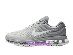 pretty nice b69a2 79c99 Exercice Nike Running shoes Nike Air Max 2017 Officiel pas cher Femme  Silver 849559-005