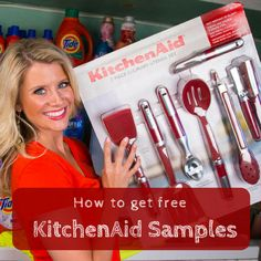 Get a free KitchenAid sample to add to your kitchen gadget collection! Take a short survey to qualify. #ReadySetBake