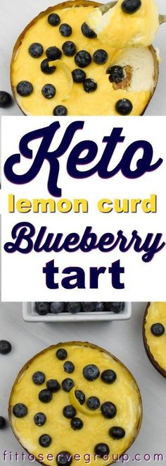 Keto lemon curd blueberry cheesecake tart, combines lemon curd, cheesecake mousse and fresh blueberries for a low carb keto friendly amazing treat. Lemon Blueberry Cheesecake, No Bake Blueberry Cheesecake, Lemon Cheesecake Bars, Blueberry Desserts, Low Carb Cheesecake, Cheesecake Cupcakes, Sugar Free Desserts, Low Carb Desserts, Easy Lemon Curd