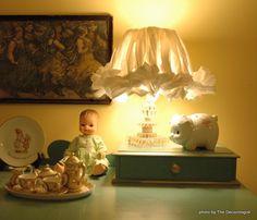 shabby chic lamp tutorial