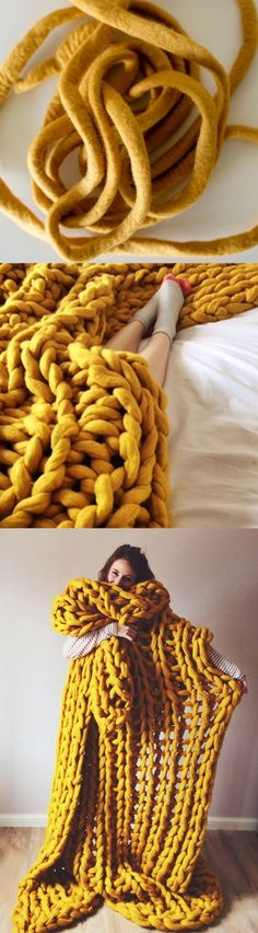of girl | Stylish chunky knit blanket knitted blanket, chunky blanket, knit throw, super bulky blanket, bulky gift | Online Store Powered by Storenvy