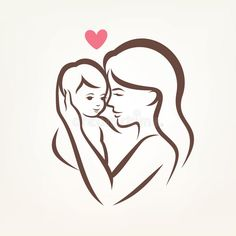Mom And Baby Stylized Vector Symbol Stock Vector - Illustration of medicine, child: 54237446 : Mom and baby stylized vector symbol. Mother and son stylized vector silhouette, , Mom Baby Tattoo, Mother And Baby Tattoo, Tattoo For Son, Mother Tattoos, Baby Tattoos, Creative Memories, Mother And Daughter Drawing, Mother Baby Photography, Mom Tattoo Designs