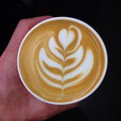 Damn... I love coffee.  . . . . #slowsetta #freepour #freepourart #coffee #roughdiamond #eat3280 #latteeart #warrnambool by rough_diamond_coffee
