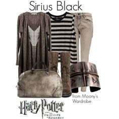 """Sirius Black"" by evalupin on Polyvore"