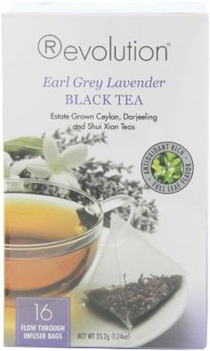 Revolution Tea Earl Grey Lavender Tea, 16-Count Teabags (Pack of 6) - http://teacoffeestore.com/revolution-tea-earl-grey-lavender-tea-16-count-teabags-pack-of-6/