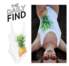 """""""The Daily Find: Onia Swimsuit"""" by polyvore-editorial ❤ liked on Polyvore featuring ONIA and DailyFind"""