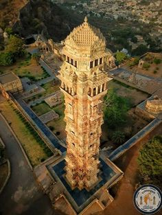 "arjuna-vallabha: "" The Victory Tower, Chittorgarh, Rajasthan. The tower was constructed by the Mewar king, Rana Kumbha, in 1448 to commemorate his victory over the combined armies of Malwa and Gujarat led by Mahmud Khilji. The tower is dedicated to. Temple Architecture, Cultural Architecture, Historical Architecture, Ancient Architecture, Beautiful Architecture, Classic Architecture, Building Architecture, Temple India, Hindu Temple"